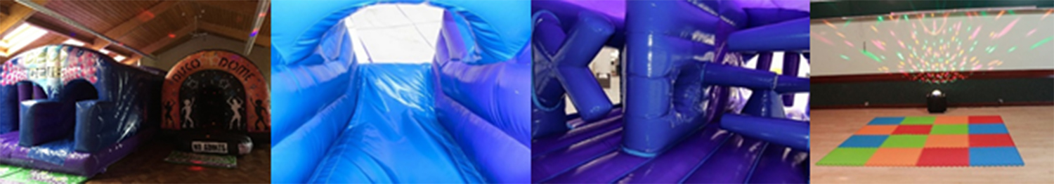 Inflatable disco party packages