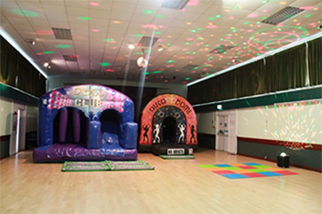 bouncy castle parties hertfordshire